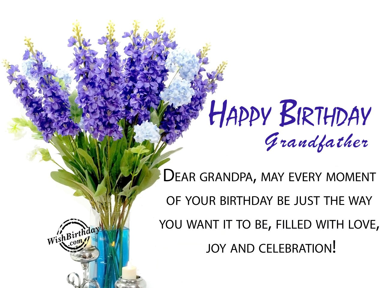 birthday wishes for grandfather  birthday images, pictures, Birthday card