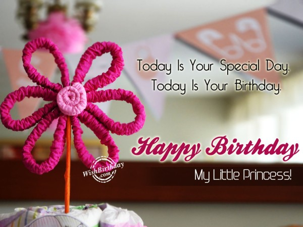 Today Is Your Special Day - WishBirthday.com
