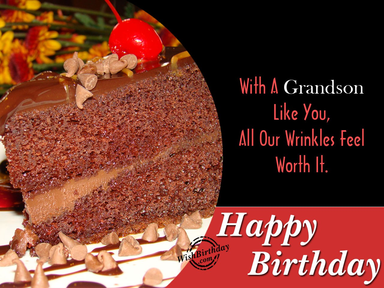 Birthday Ecards Grandson ~ Birthday wishes for grandson images pictures
