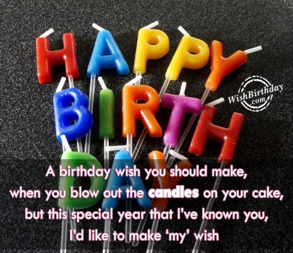 A Birthday Wish You Should Make