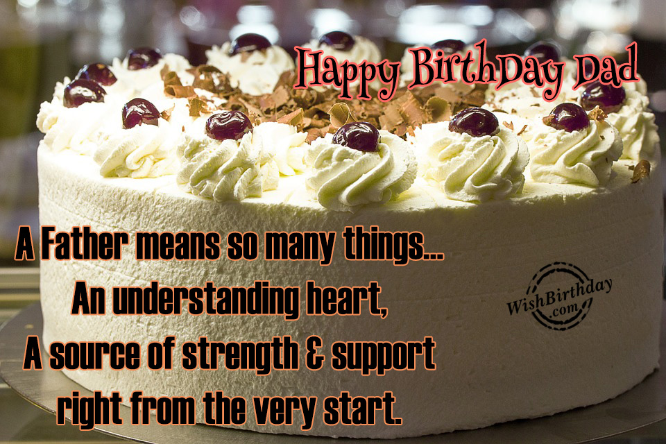 Birthday Wishes For Father Birthday Images Pictures – Birthday Greeting Dad