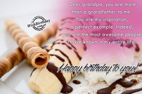 Dear Grandpa You Are More Than A Grandfather
