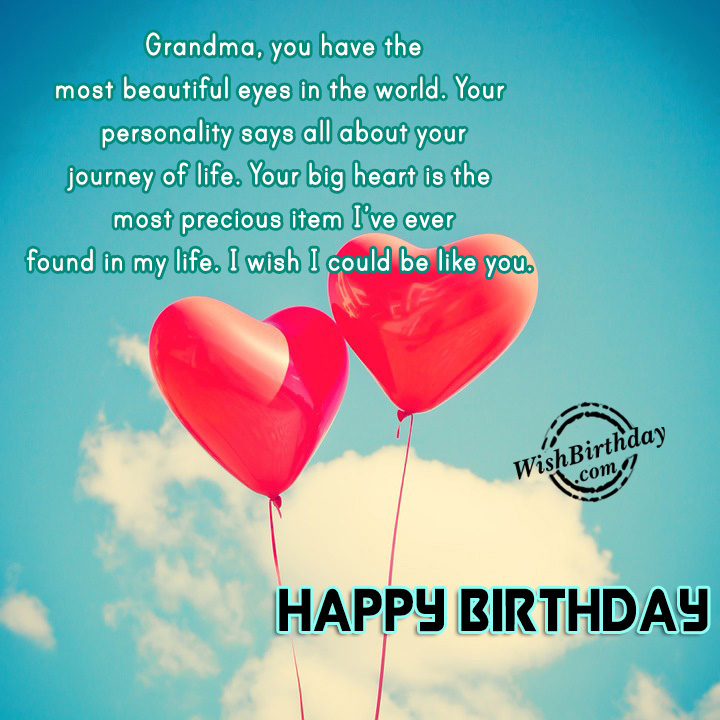 Happy Birthday Lola Message ~ Birthday wishes for grandmother images pictures