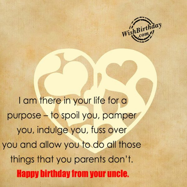 Happy Birthday From Your UIncle-wb601