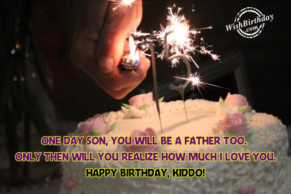 Happy Birthday Kiddo - WishBirthday.com