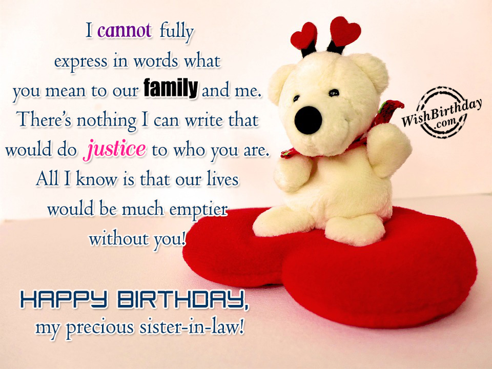 1000+ images about Sister-law (Cuñada) on Pinterest Happy Birthday Sister In Law Graphics