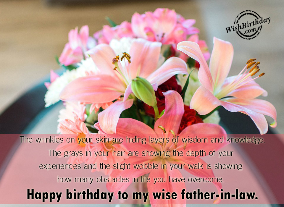 Birthday Wishes For Father In Law Birthday Images Pictures