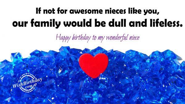 Happy Birthday To My Wonderful Niece-wb603