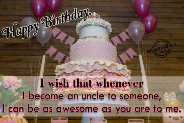 I Can Be As Awesome As You Are To Me - WishBirthday.com