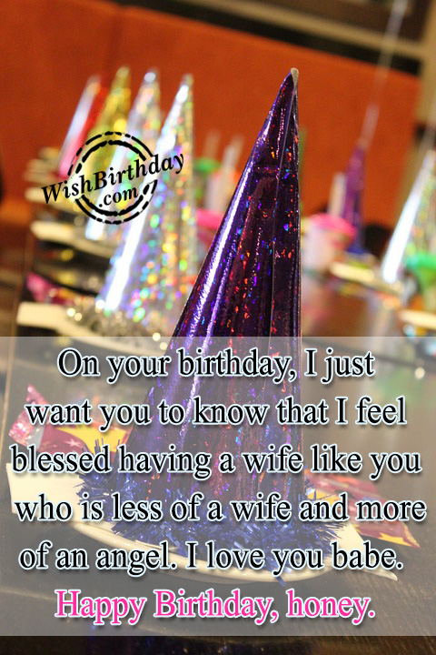 Birthday Wishes For Wife - Birthday Images, Pictures