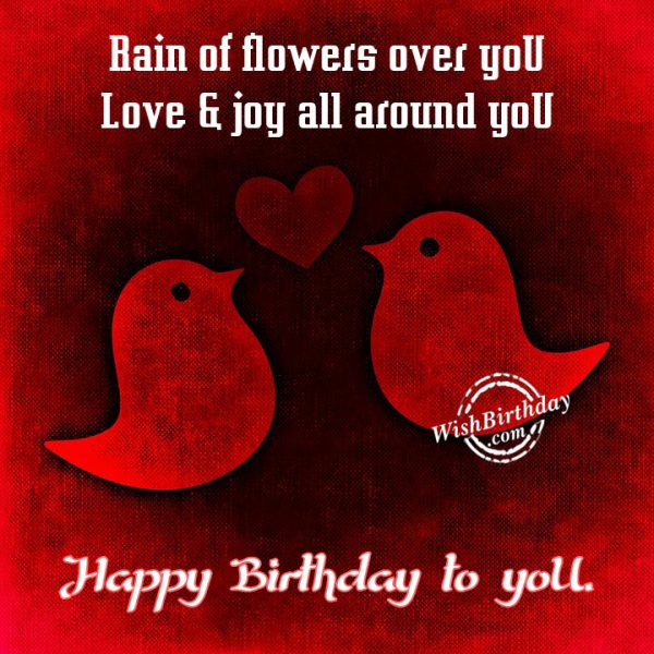 Love And oy All Around You - Happy Birthday