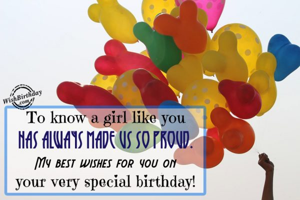 My Best Wishes For You On Your Special Day