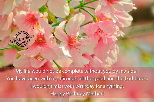 My Life Would Not Be Complete Without You Mom-wb56
