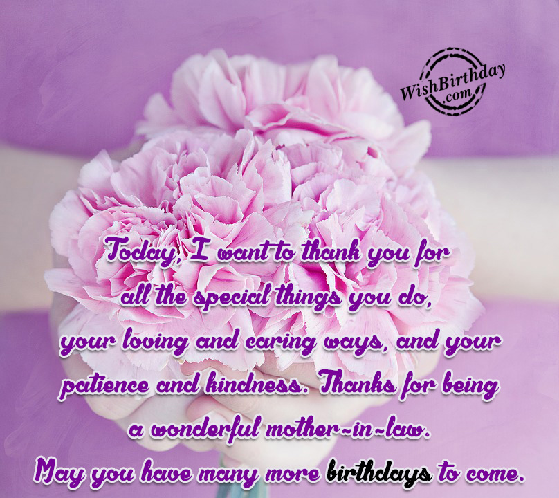 Birthday wishes for brother in law birthday images pictures thanks for being a wonderful mother in law m4hsunfo