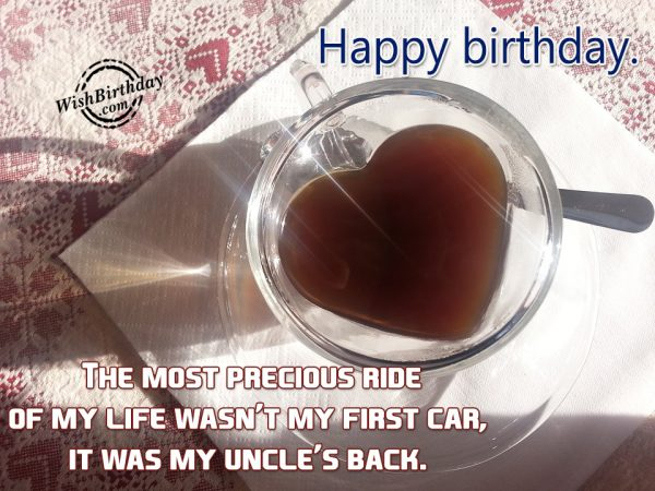 The Most Precious Ride Of My Life Was My Uncle's Back-wb55