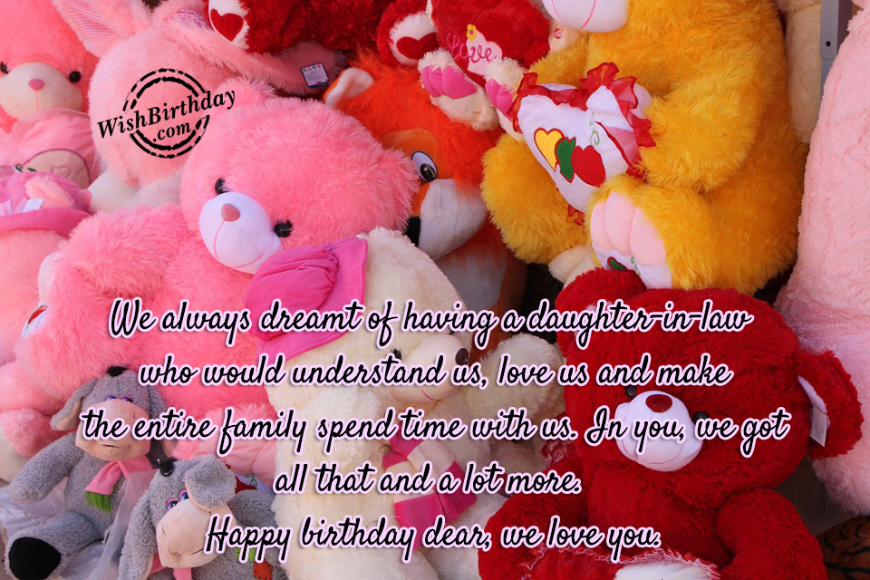 Birthday Wishes For Daughter In Law Birthday Images Pictures – Birthday Cards for Daughter in Law