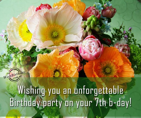 Wishing You An Unforgettable Birthday