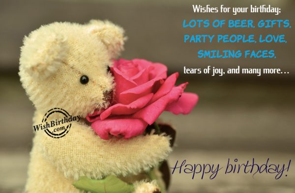 Wishing You Love And Many More - WishBirthday.com