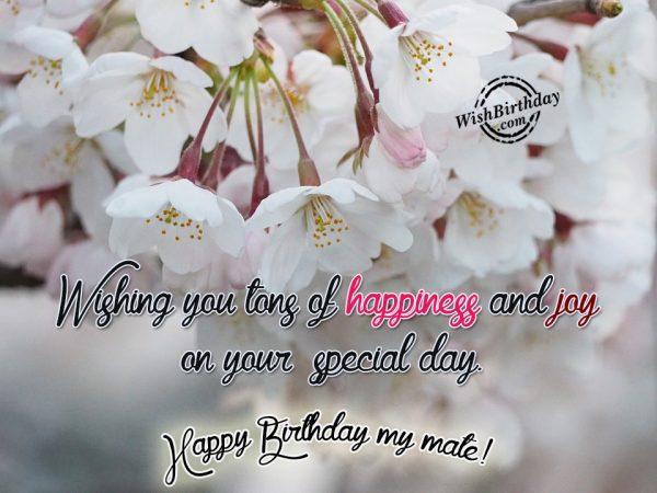 Wishing You Tons Of Happiness
