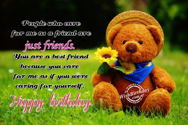 You Are A Best Friend - WishBirthday.com