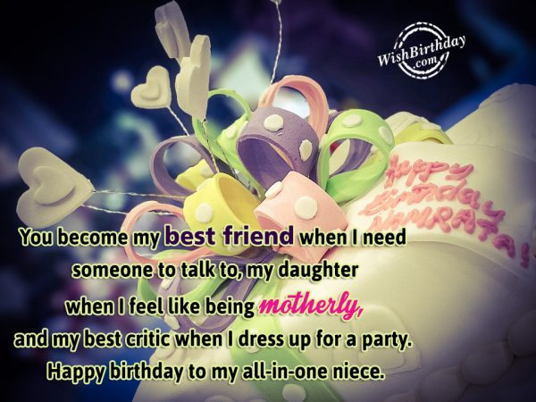 You Become My Best Friend - WishBirthday.com