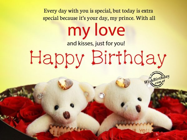 Every day with you - WishBirthday.com