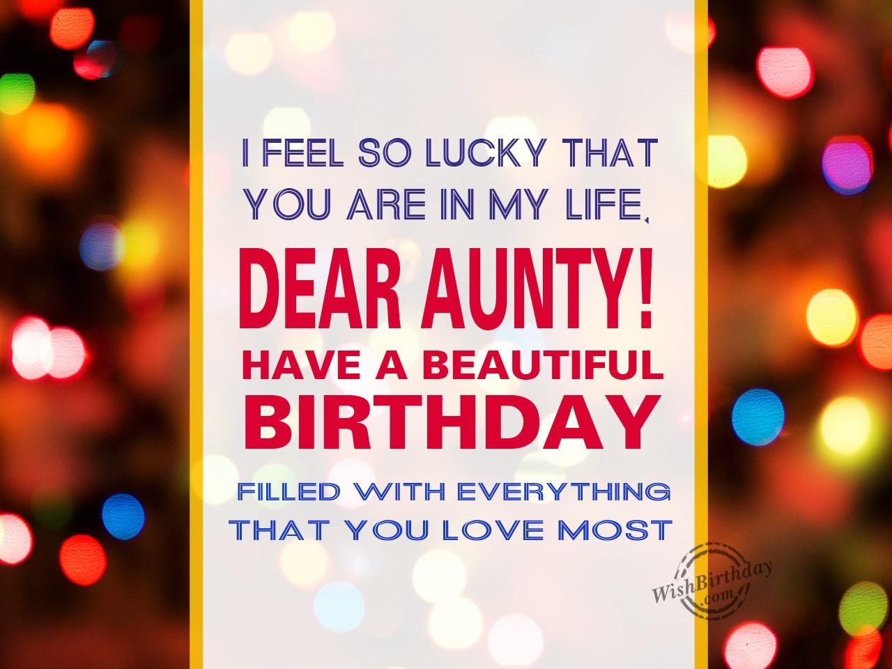 I Feel So Lucky Happy Birthday Wishbirthday Com