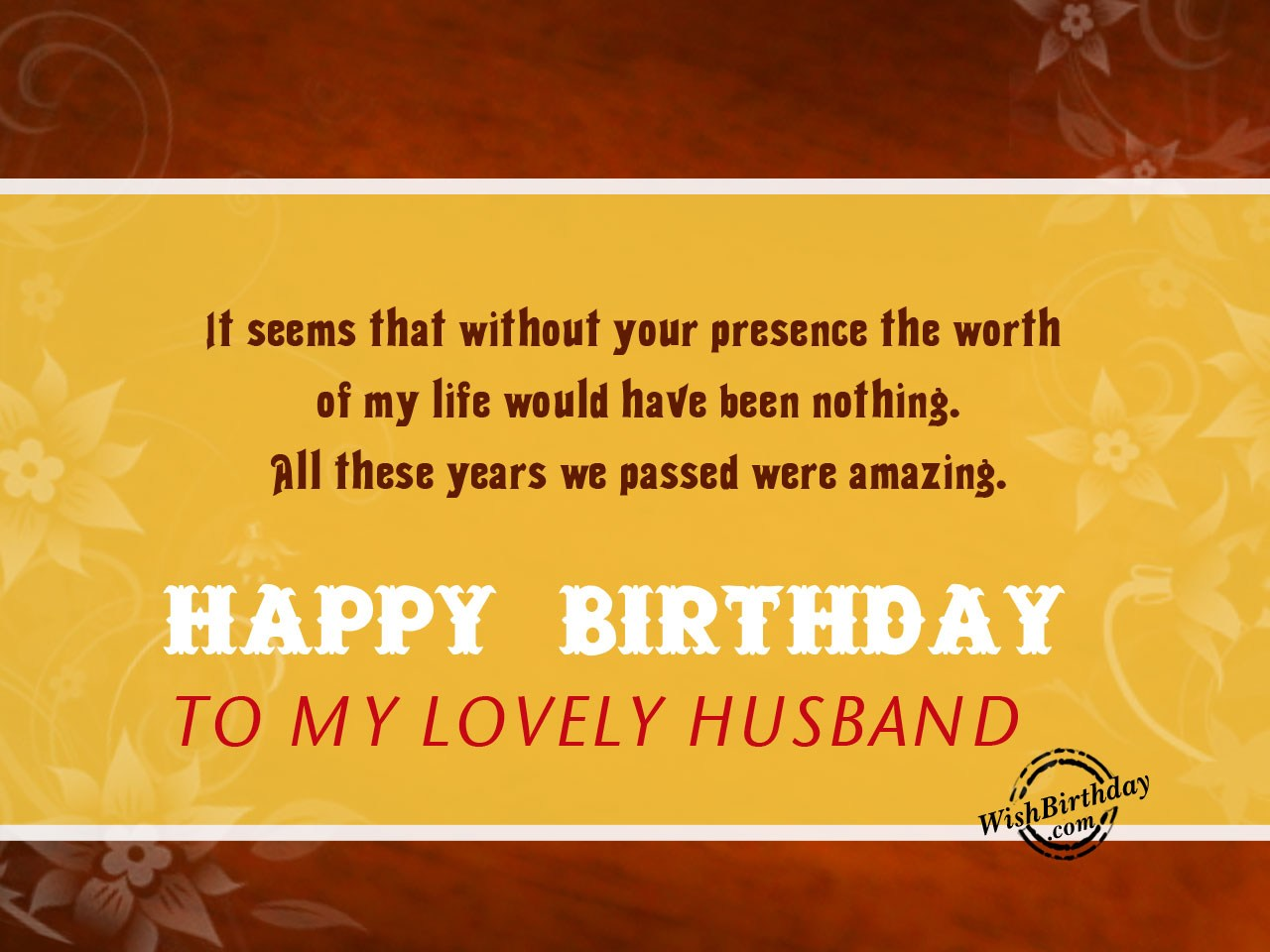 Birthday Wishes For Wife Islamic ~ Birthday wishes for husband birthday images pictures