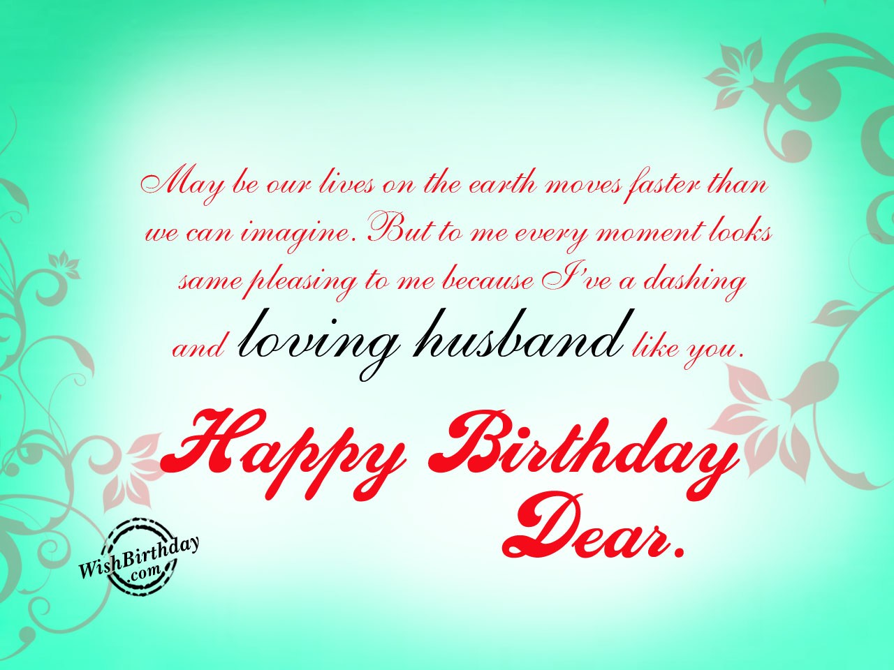 Birthday Wishes For Husband Birthday Images Pictures – Happy Birthday Greeting for Husband