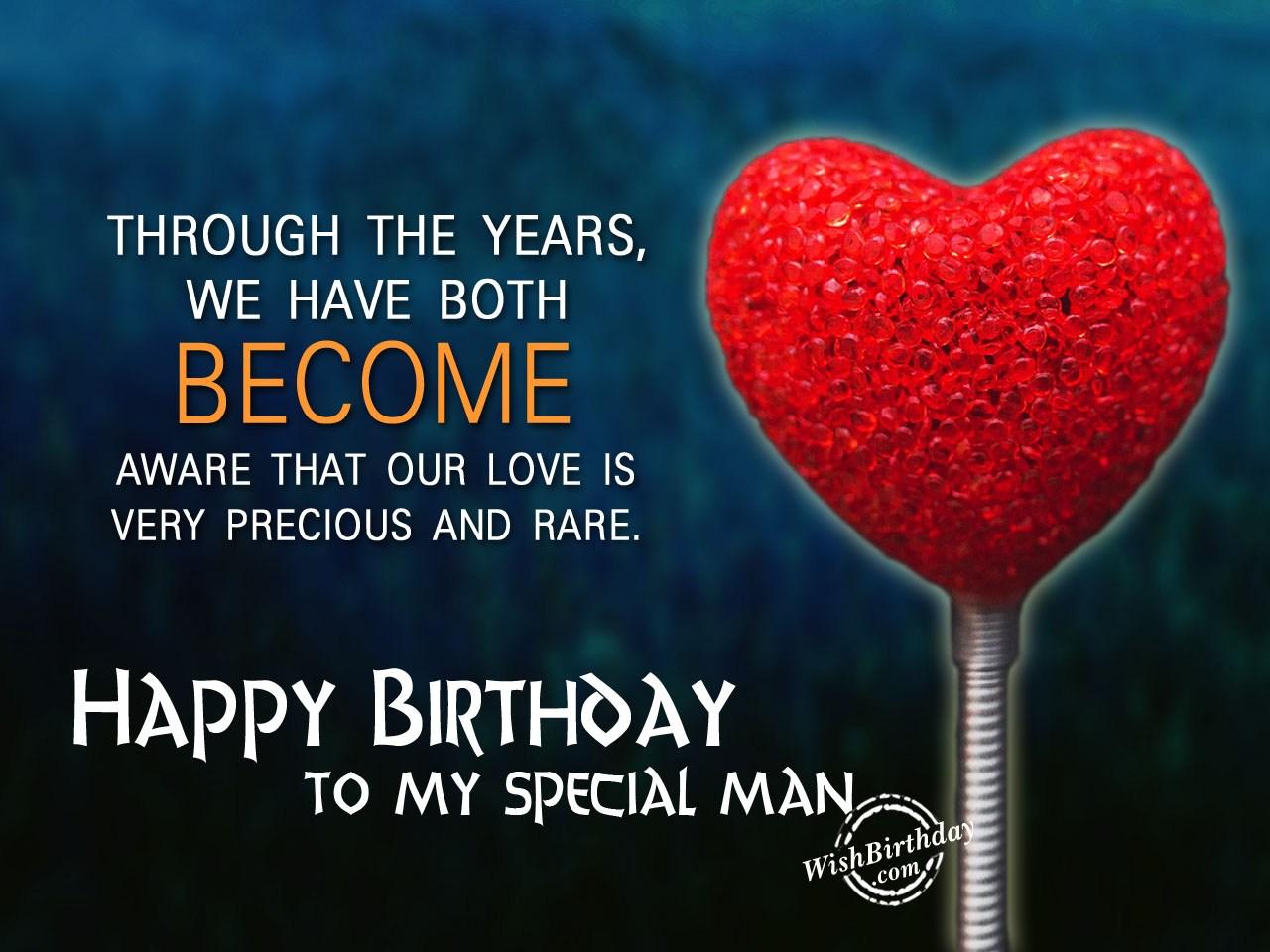 Birthday Cake Greetings For Husband
