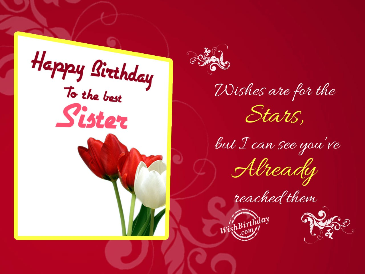 Birthday Wishes For Sister Birthday Images Pictures – Birthday Greeting Sister