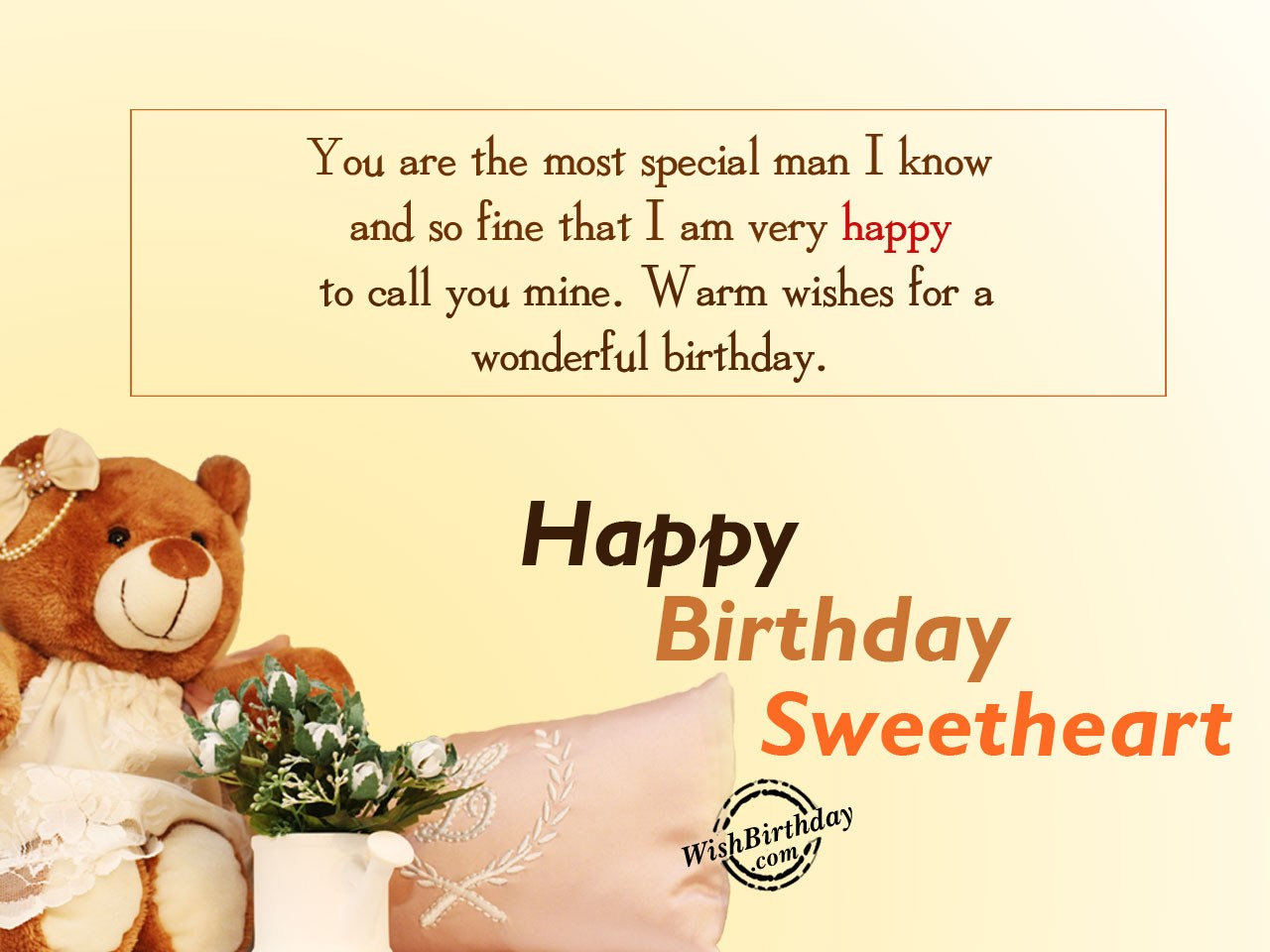 Birthday wishes for boyfriend birthday images pictures you are the most special man m4hsunfo
