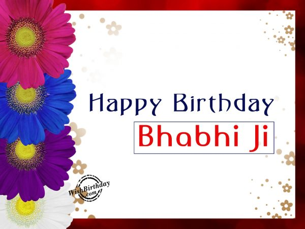 Janmdin ke is shubh avsar par, Happy Birthday Bhabi ji