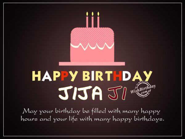 May your birthday be filled with happiness,happy birthday jiju