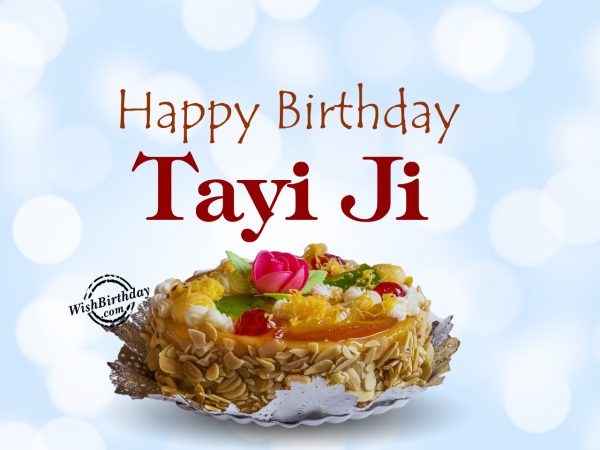Our family is truly blessed to have wonderful tayi, Happy Birthday Tayi - WishBirthday.com