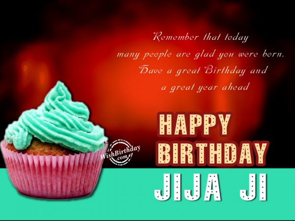 Remember that today many people glad you,Happy Birthday Jiju