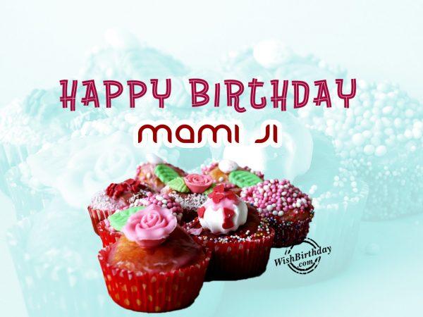 Sajti rahe khushiyon ki mehfil,Happy Birthday Mami Ji