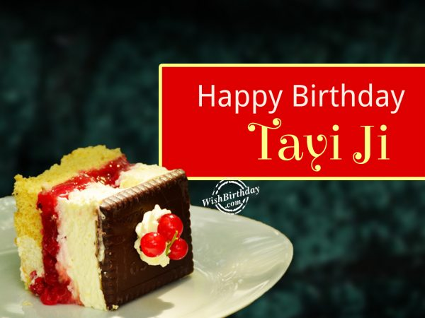To the best tayi in the world,Happy Birthday Tayi Ji