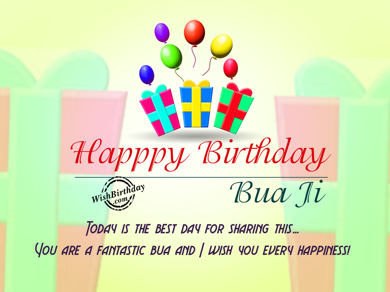 Birthday wishes for bua ji birthday images pictures today is the best day for sharing this birthdayhappy birthday bua ji bookmarktalkfo Image collections