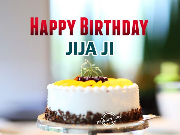 Wishing you happy birthday jija ji