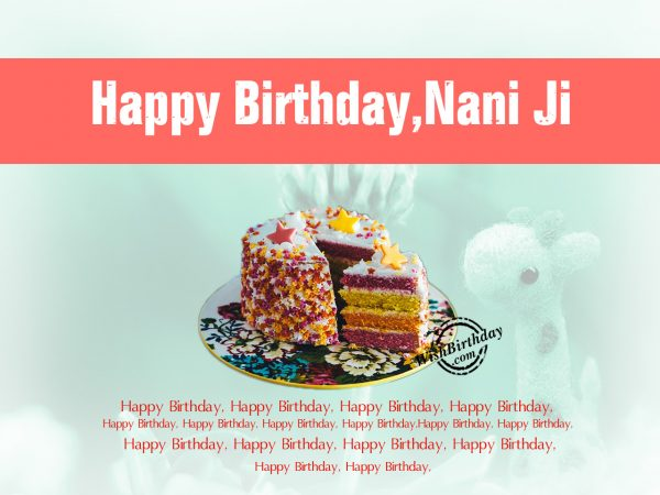 You are like the cookies,Happy Birthday Nani Ji
