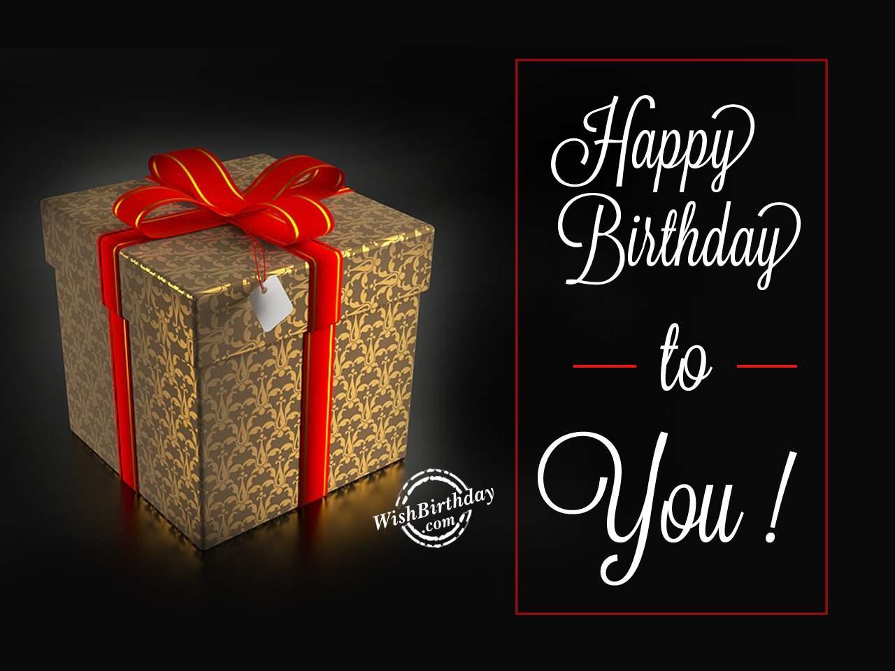 happy birthday with gift   wishbirthday